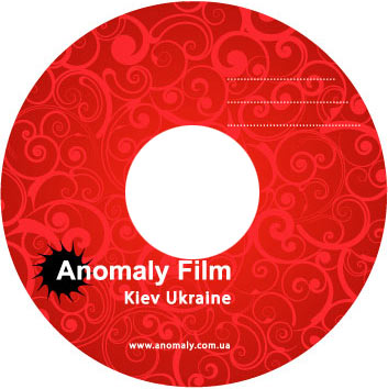 Тиражирование CD дисков для Anomaly Film