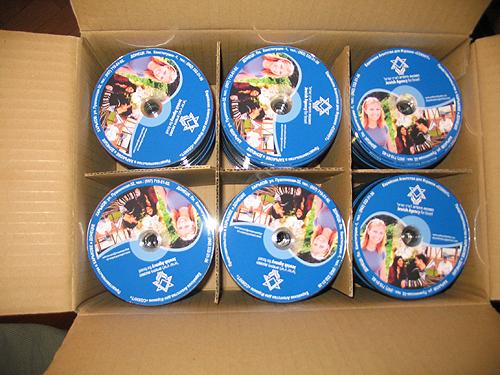 СОХНУТ тираж CD дисков
