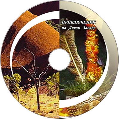 Приключения на Диком Западе. Тиражирование CD дисков.