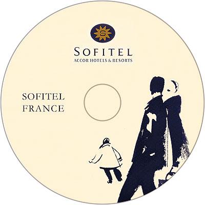Тиражирование CD дисков Sofitel France
