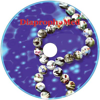 Тиражирование CD дисков для НПК Диапроф-Мед
