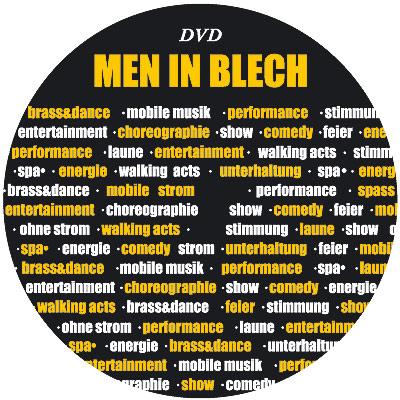Тиражирование DVD диска Men in Blech